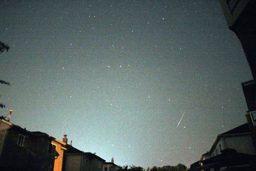 My First Shot in Astrophotography During Perseids 2015