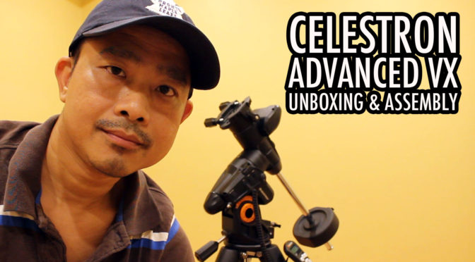 Celestron Advanced VX Mount: Unboxing and Assembly