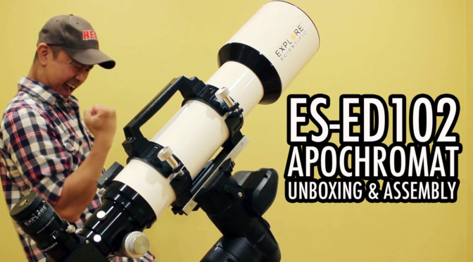 Explore Scientific ED-102 Unboxing