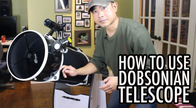 How to Use a Dobsonian Reflector Telescope