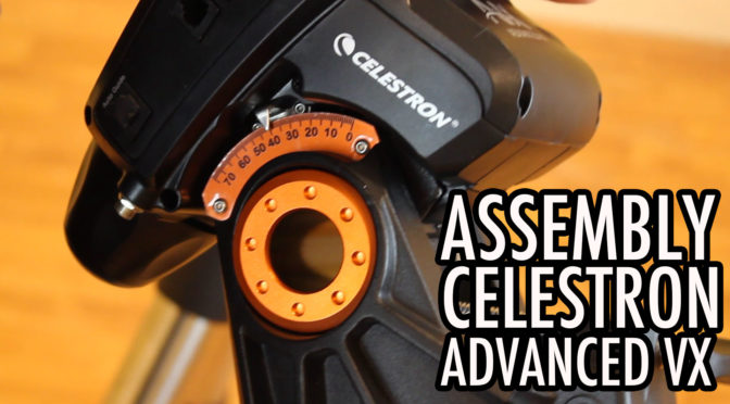 Celestron Advanced VX & Explore Scientific ED 102 Assembly